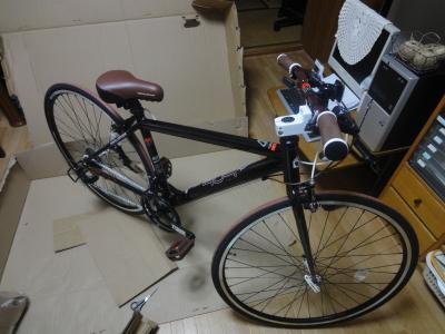 自転車組み立て!