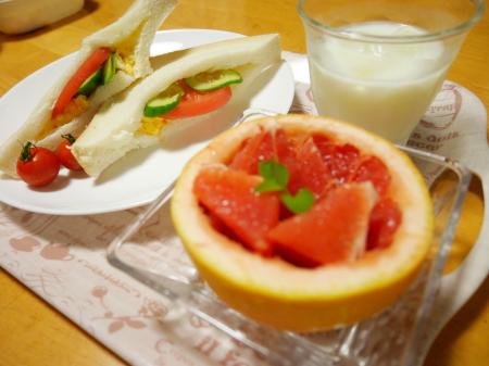 朝食パレード!^^