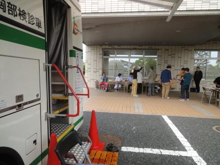 胸部レントゲン検診 実施!